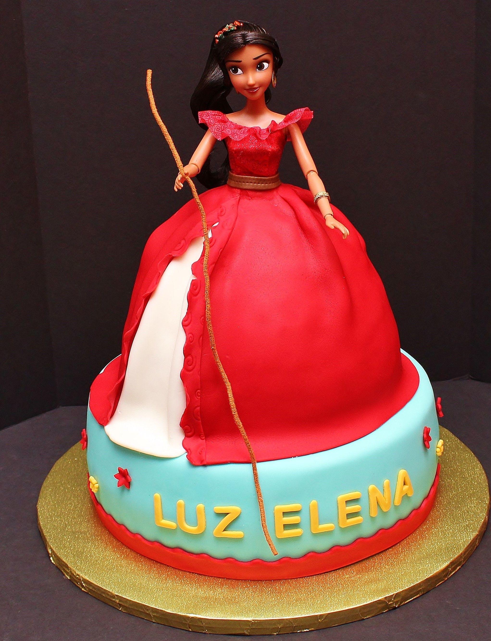 Elena De Avalor Mermaid Birthday Cakes Doll Birthday Cake