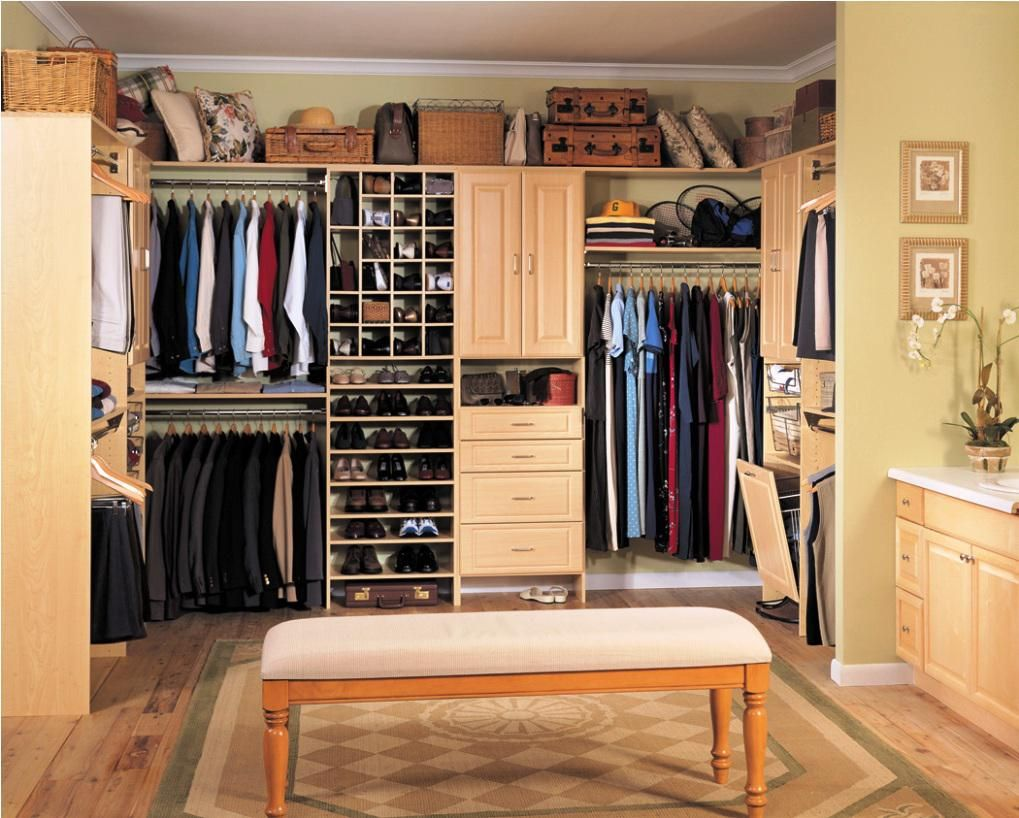 Awesome Extend Your Home Design Into Your Closet Area