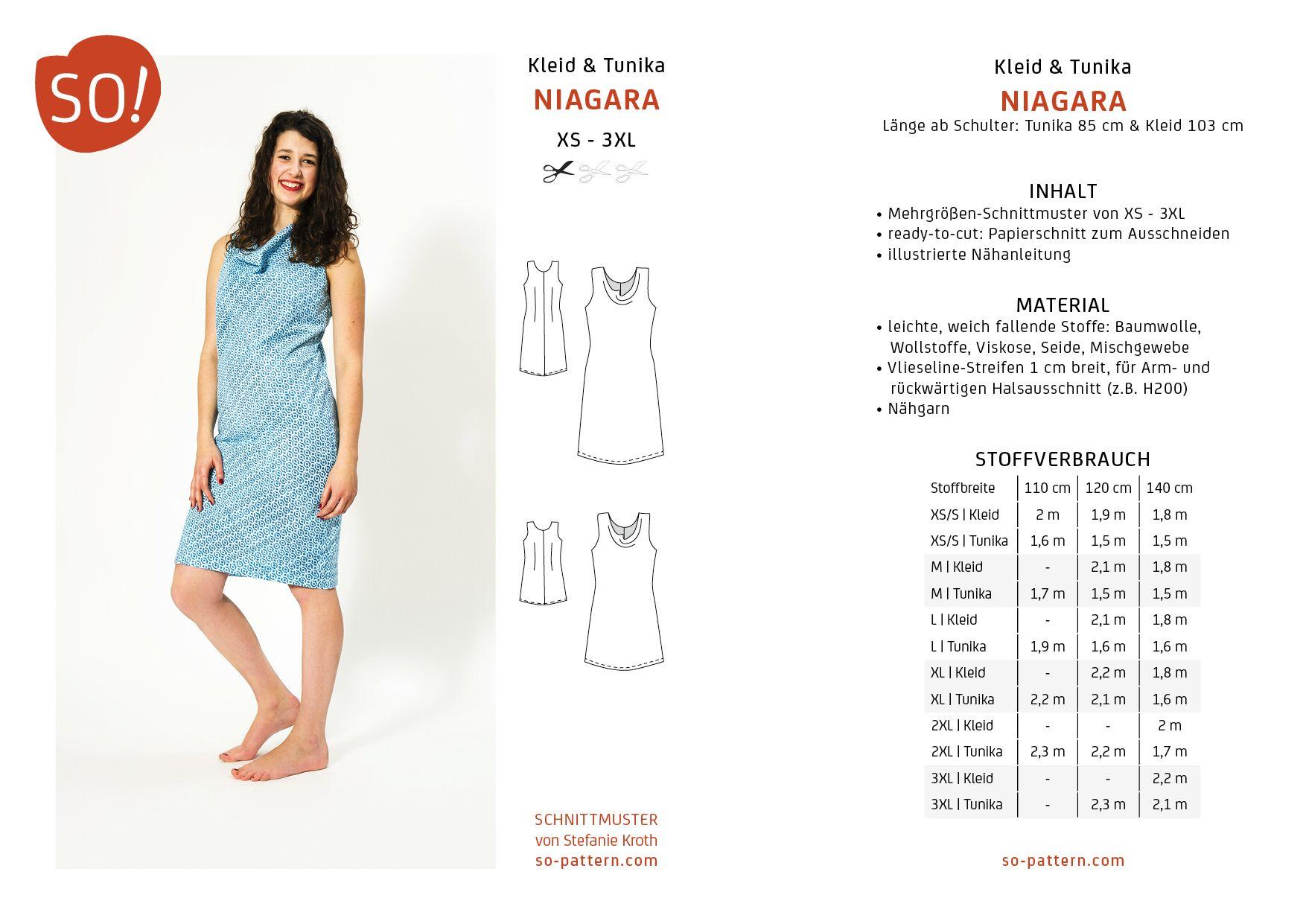 SO! Pattern * Indie Sewing Patterns * Designschnittmuster * Stefanie ...
