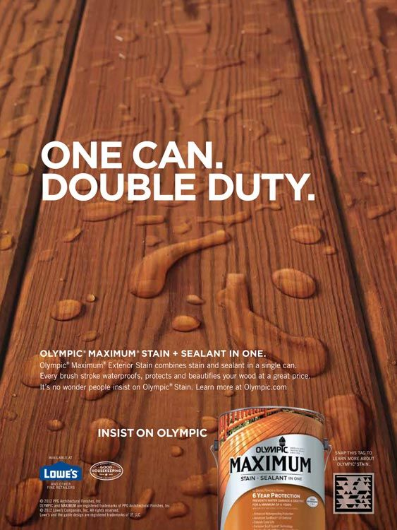 About Olympic® Stains | Exterior stain and Decking