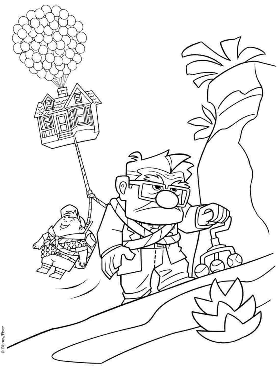 Disney Movie Coloring Pages Coloring Sheets Up Movie – Huangfeifo