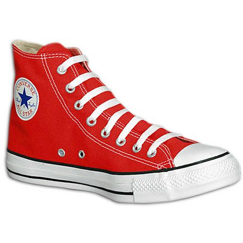 Converse All Star Hi - Mens - Bright Red/White