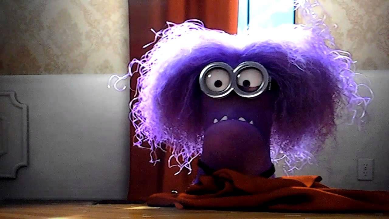 злой фиолетовый миньон картинка лосинами называлась