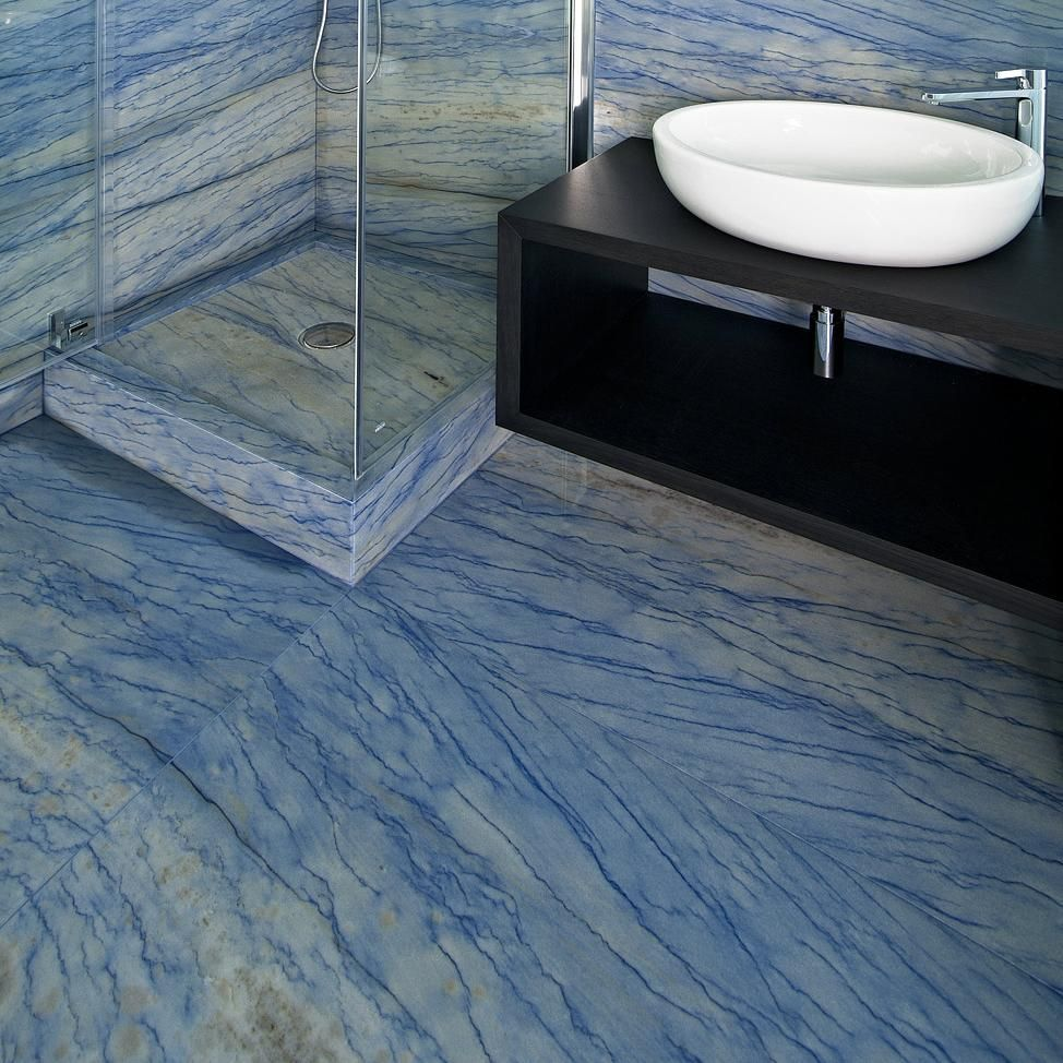 Blue is so calming and relaxing, perfect for the bathroom | bathroom ...