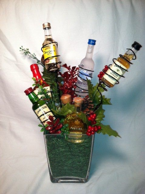 Idea for basket for SKPS Golf Outing | Holiday crafts ...
