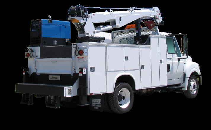 KMT111 Mechanics Truck on a International Terrastar