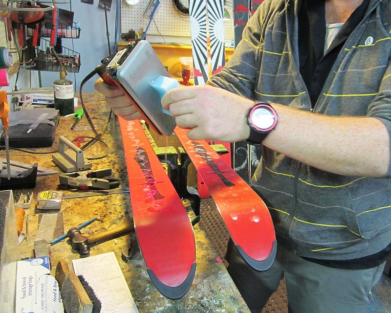 Snowboard Tune Kit Wax Tuning Dakine Ski Edge Quick Iron