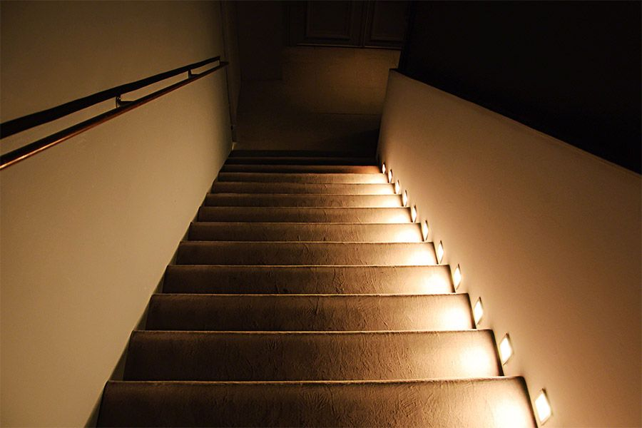 Image Result For Cove Light Stairs Stair Lighting Deck