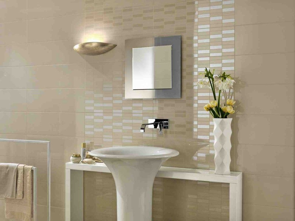 Superieur Bathroom Wall Coverings
