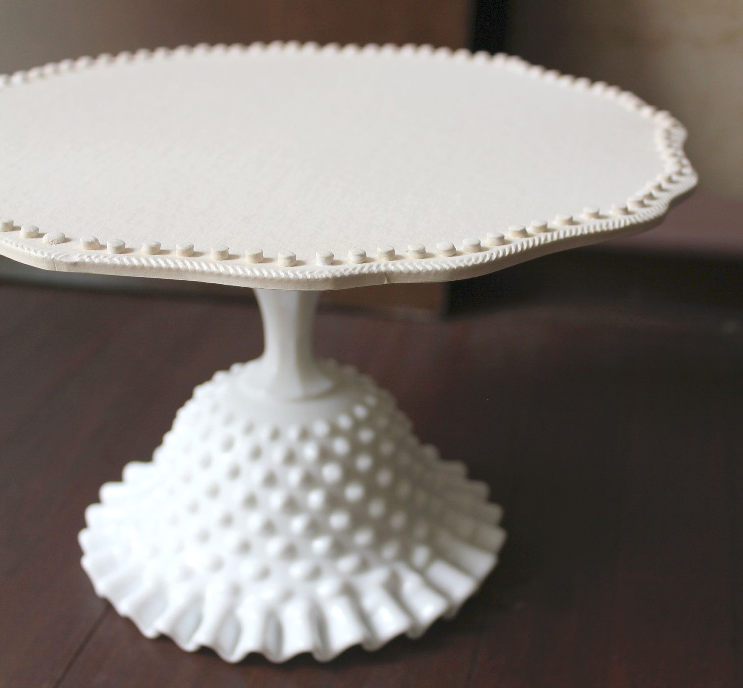 china off gracie rose products victorian inch pedestal white fine porcelain cake stand round