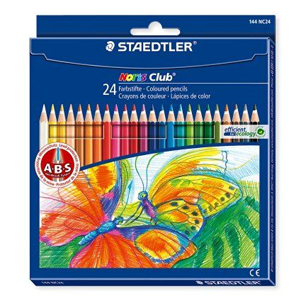 Staedtler 144nc24 Noris Club Colouring Pencils Assorted Colours