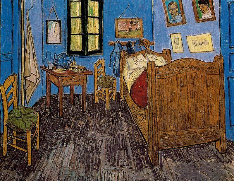 La Habitacion De Vincent Van Gogh 1888 1889 Pinturas De Van Gogh Pintor Van Gogh Van Gogh Museo
