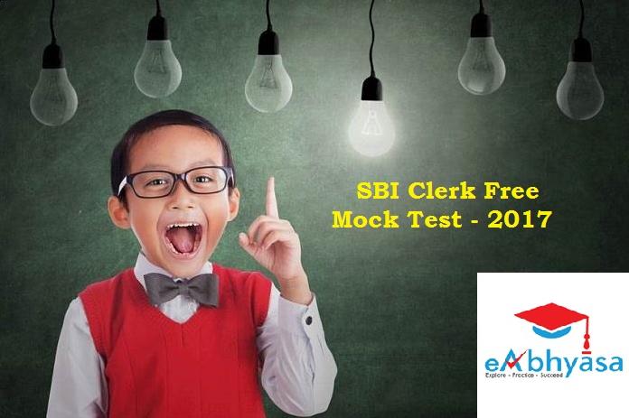 Successfully clear the SBIclerk exam with eAbhyasa