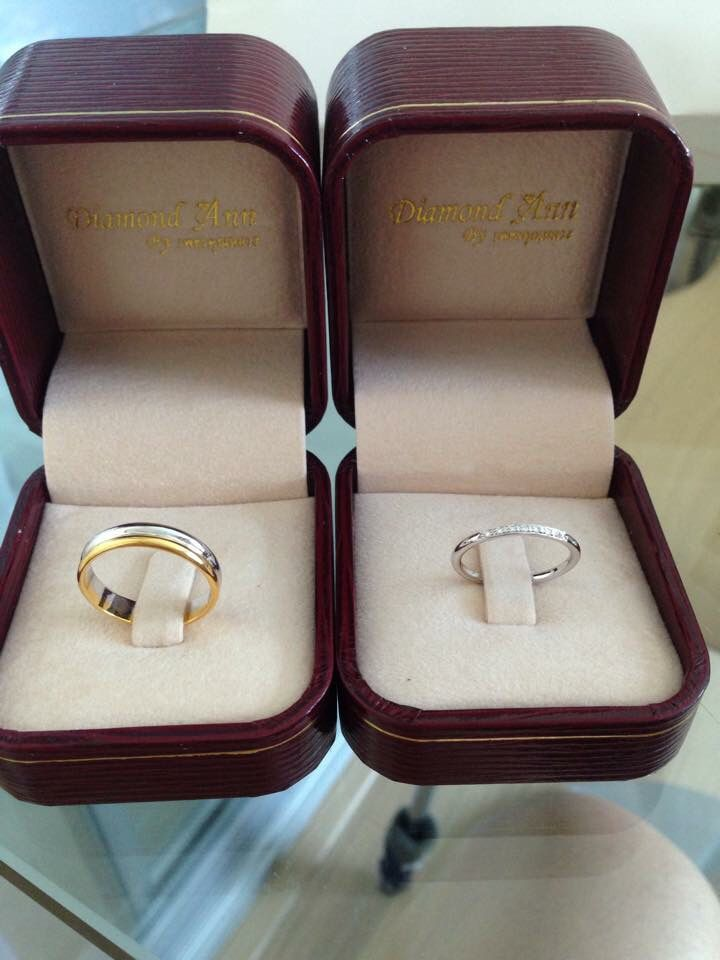 Simple Wedding bands.