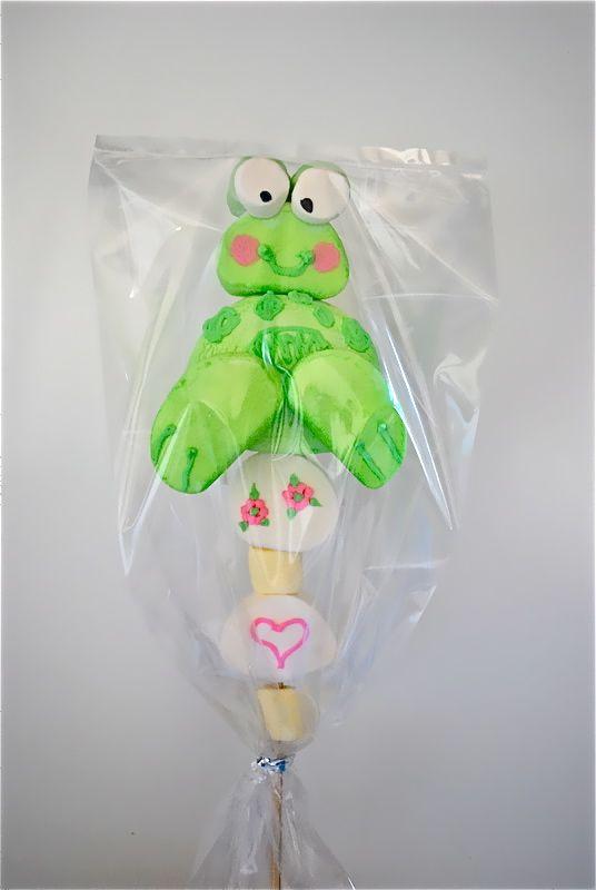 Frog marshmallow treat