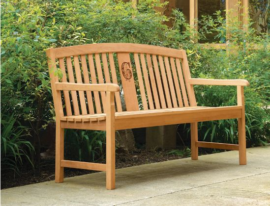 Outdoor Memorial Bench This Unique Option Allows You To Customize A Laser Engraving Of Company Logo Image Ilration Or Message Into The