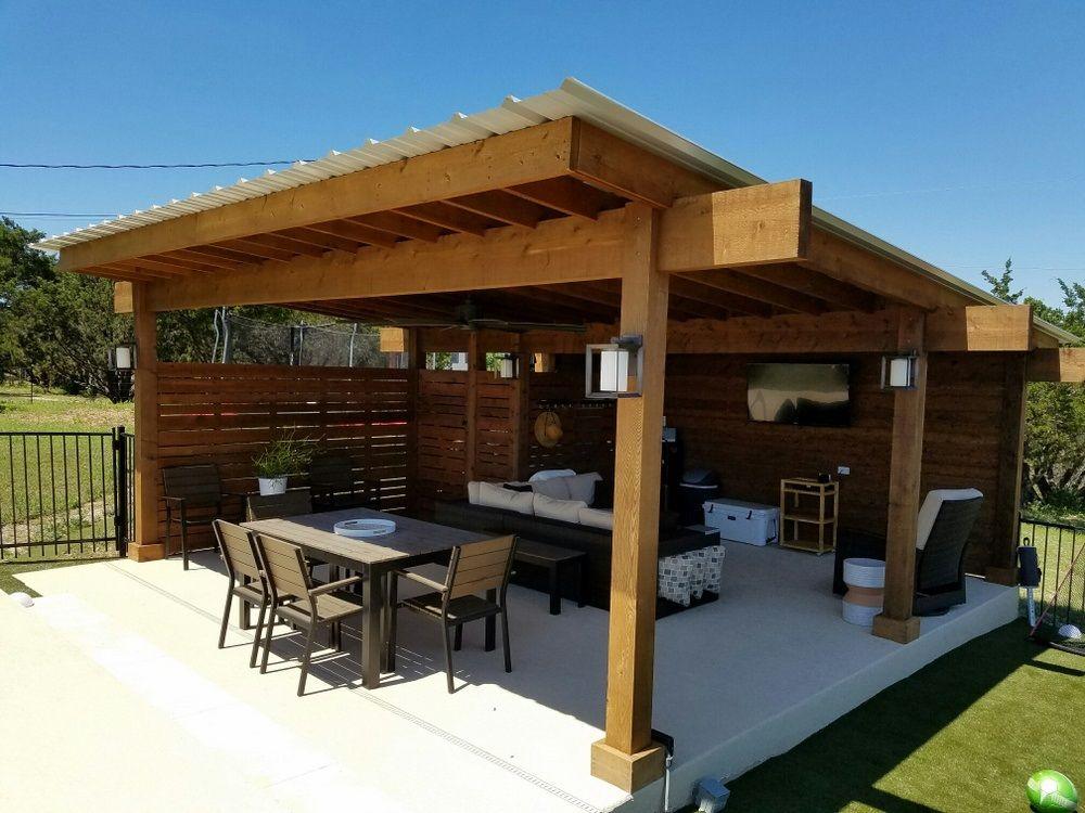 Austin Porch Builder Pergola Covered, Covered Patio Austin