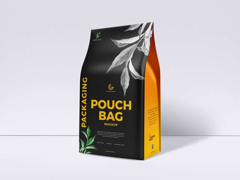 Download Free Pouch Bag Packaging Mockup Bag Mockup Pouch Packaging Packaging Mockup