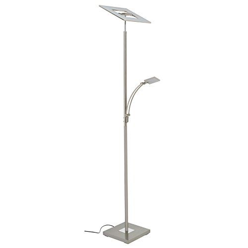 Deckenfluter Mit Leselampe Led Dimmbar