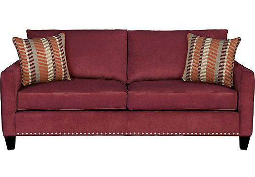 Shop For A Sofia Vergara Uptown Wine Sleeper At Rooms To Go. Find Sleeper  Sofas