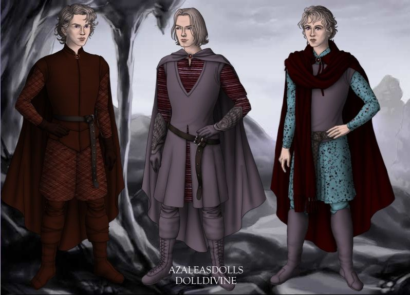 Jacaerys, Lucerys and Joffery Velaryon by Lenore08 on deviantART