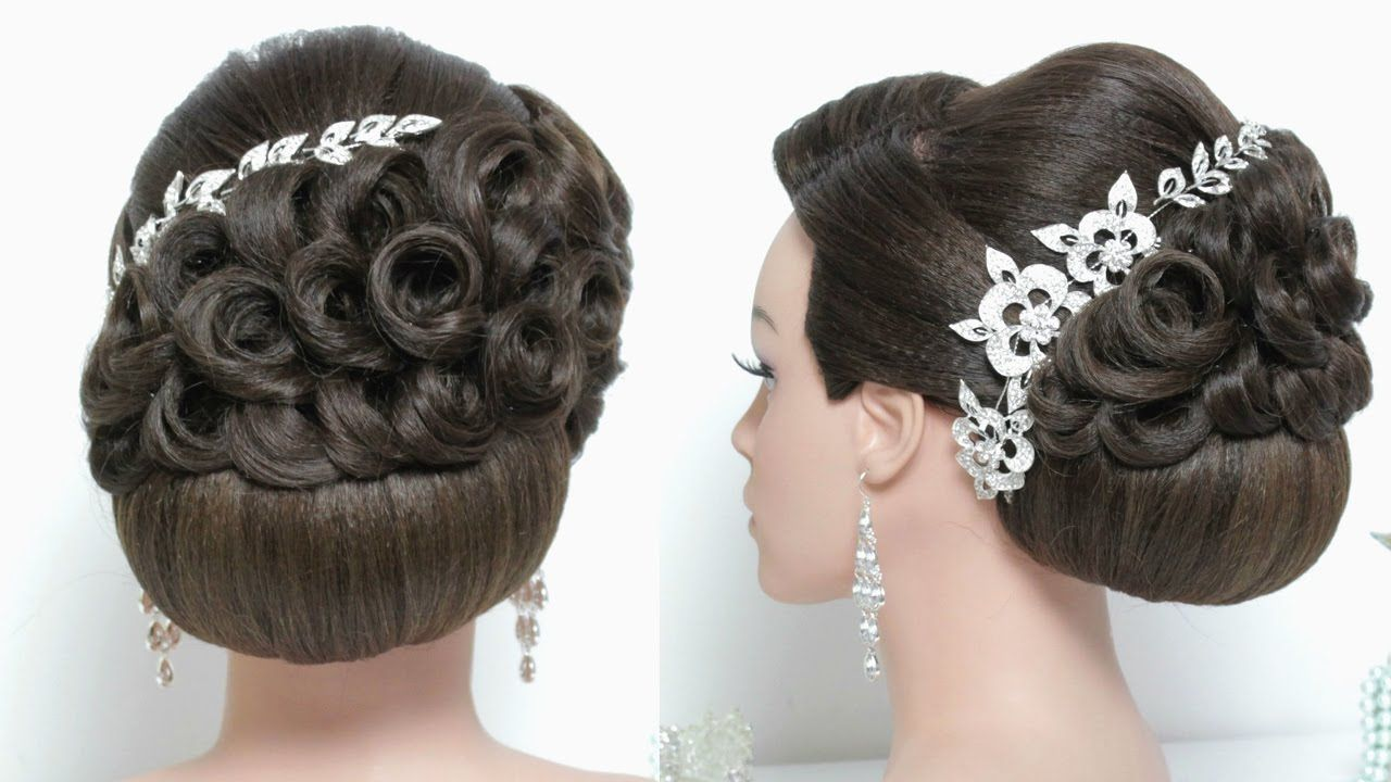 stunning wedding updo. hairstyle for long hair tutorial