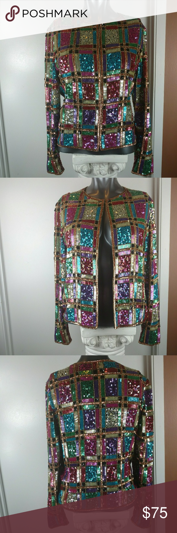 Multi Colored Evening Jackets for Women