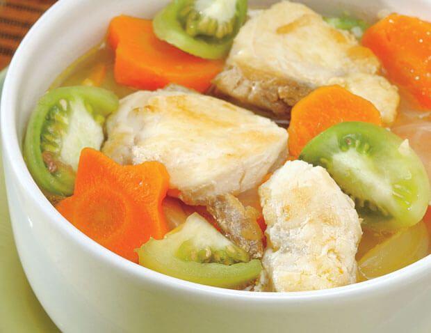 Resep Sup Fillet Ikan Resepkoki Co Sup Ikan Resep Sup Masakan