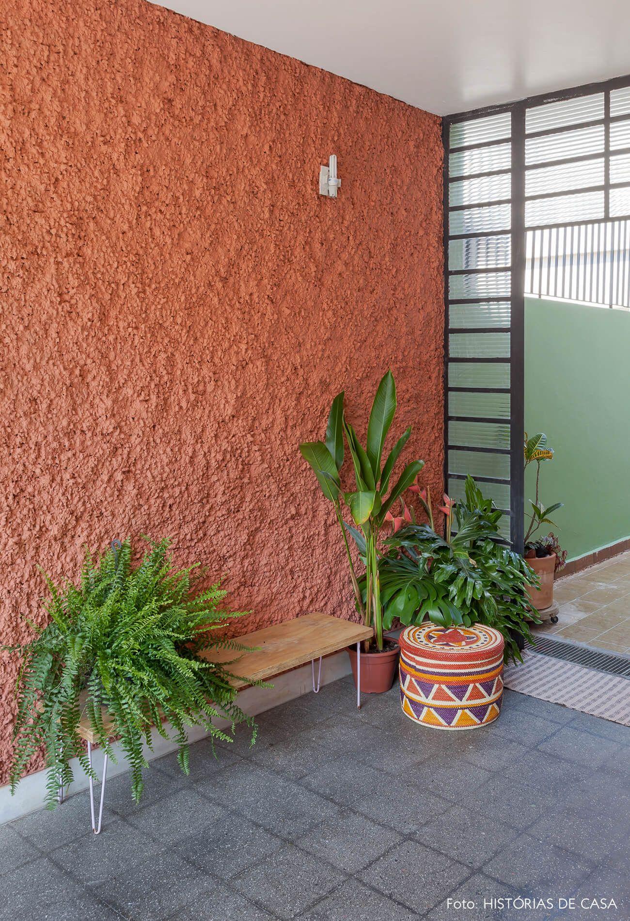 Cor de tinta para muro de quintal