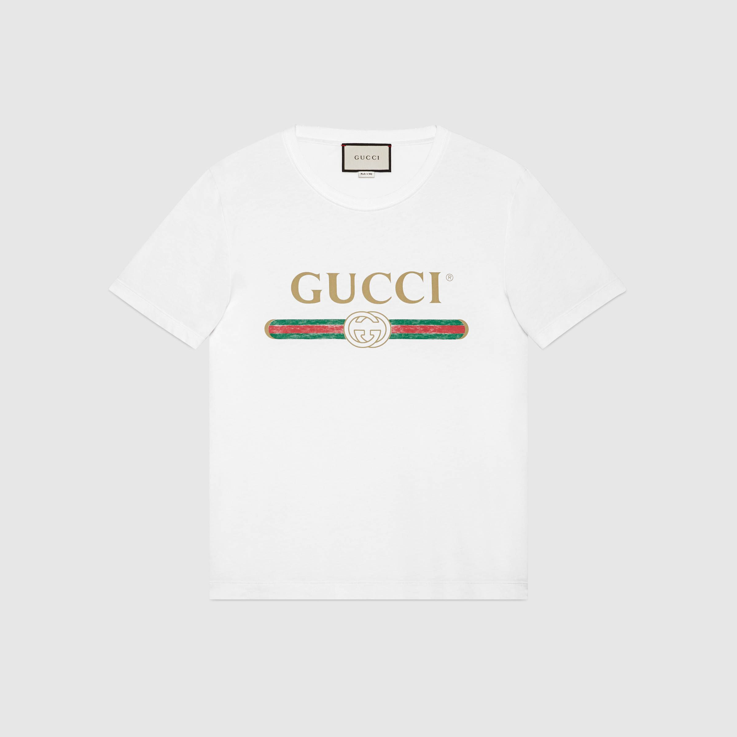 Washed t-shirt with Gucci print   .wish list.   Pinterest   Gucci ...