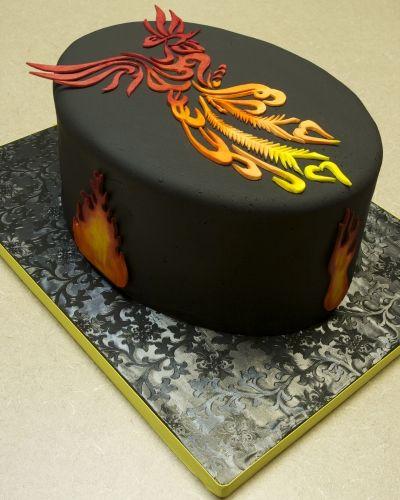 Brilliant Phoenix Birthday Cake Cake 6Th Birthday Cakes Cupcake Cakes Personalised Birthday Cards Paralily Jamesorg