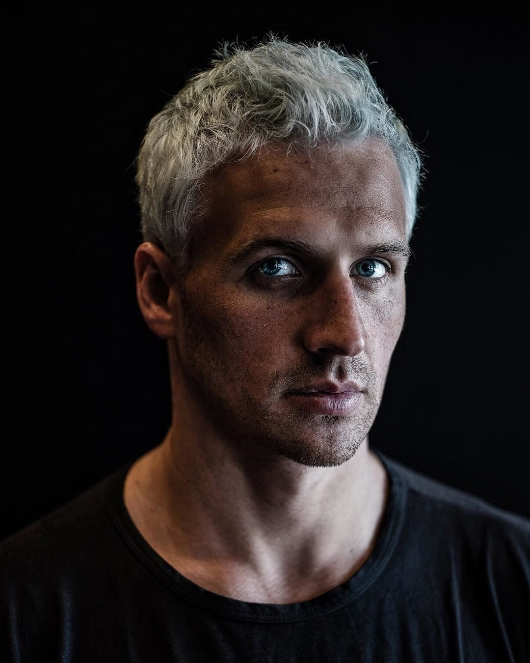 Ryan Lochte Has Health Goth Hair Now Hair Pinterest Olympics