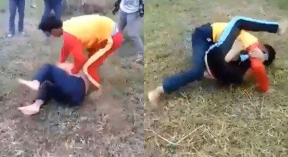 Heboh! Beredar Video Duel Gladiator Siswa SMP di Sukabumi