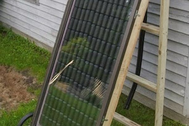 Build Your Own Soda Can Solar Heater Perfect for heating a - Panneau Solaire Chauffage Maison
