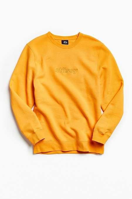c304f148073c95 Stussy 3D Raised Applique Crew Neck Sweatshirt   I like in 2019 ...
