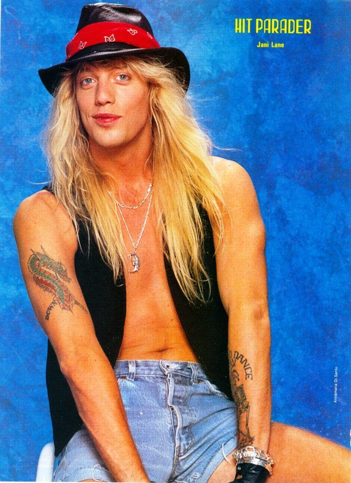 Hot and sexy! Jani Lane of Warrant Pinterest Jani lane | Hot