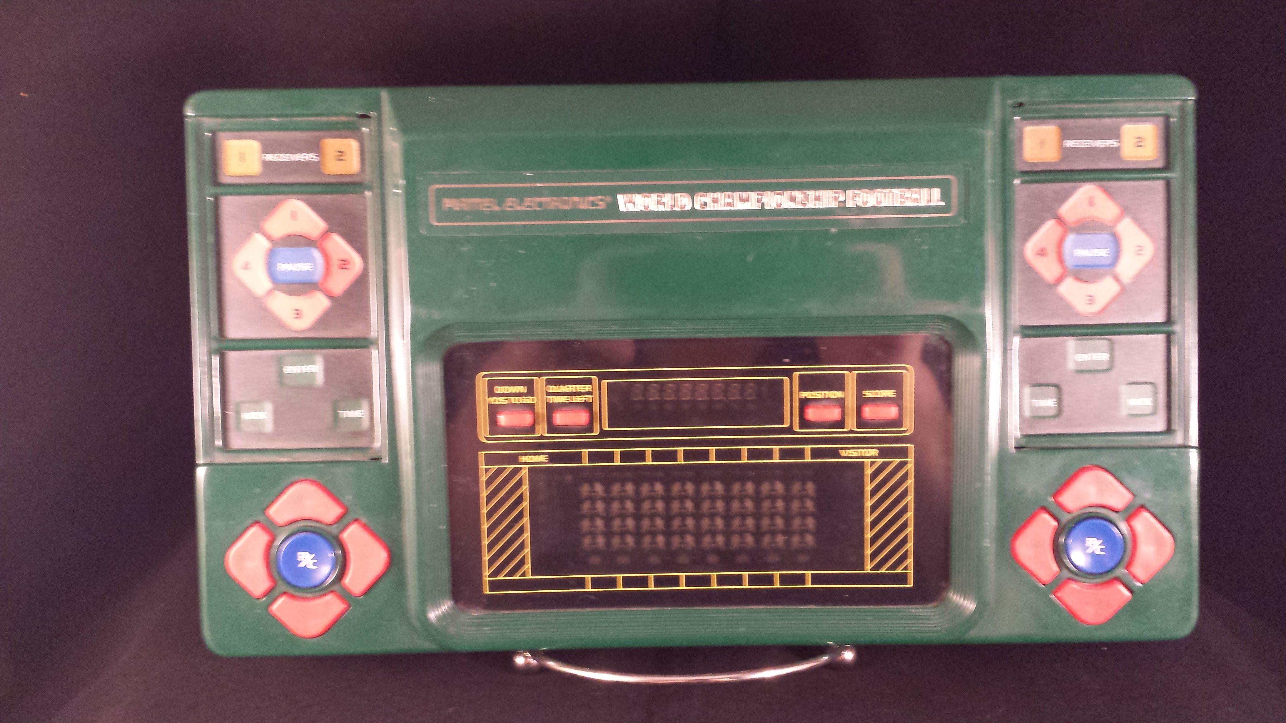 1980 mattel electronics world championship football 250