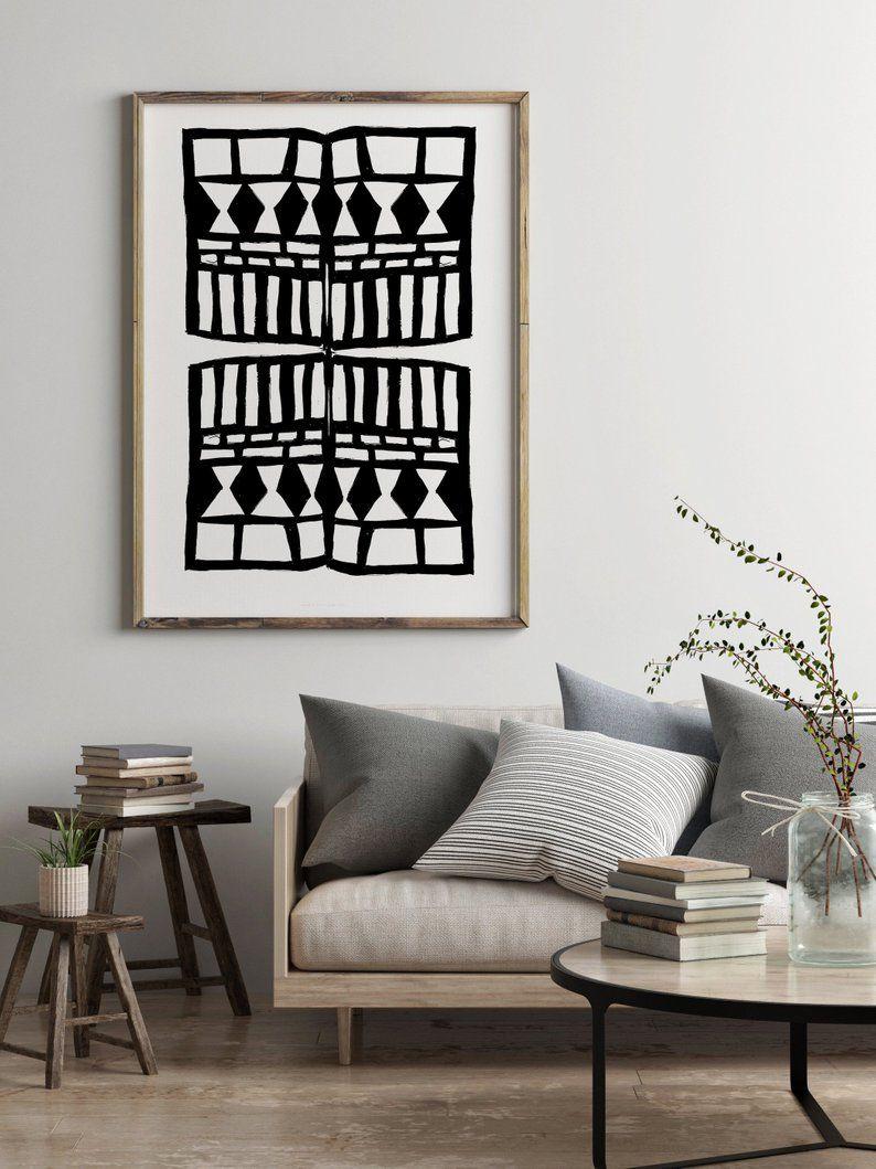 Black And White Artwork For Office