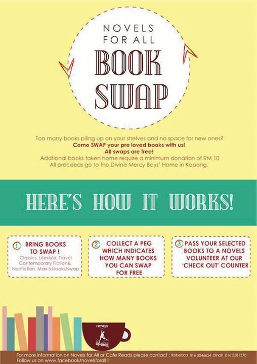 Join our Book Swap Community FREE!
