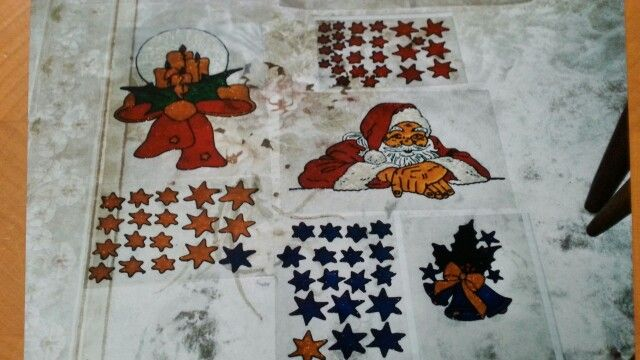 Weihnachten Window-Color 2002