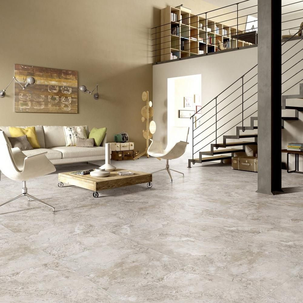 Tarsus Almond Matte Porcelain Tile Floor Decor Porcelain Tile Stone Look Tile Living Room Tiles