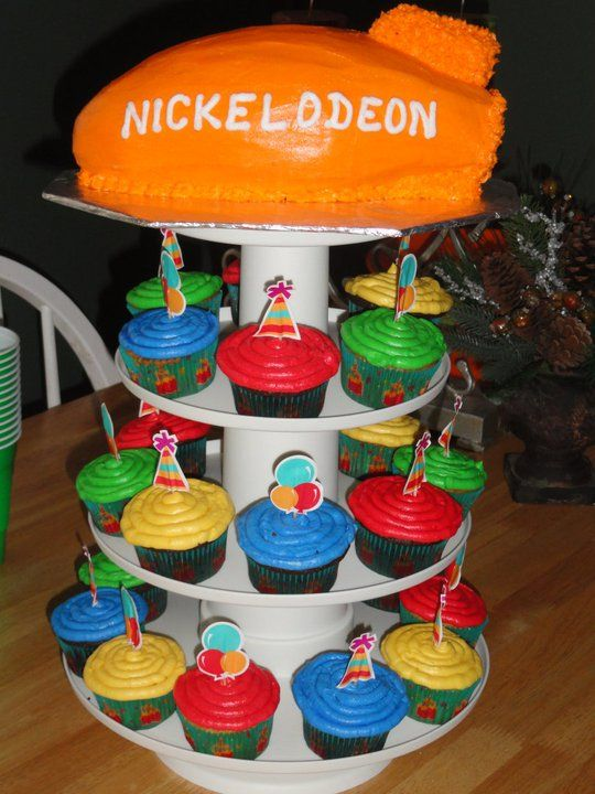 Marvelous Nickelodeon Cake Cupcakes Nick Jr Birthday Birthday Cake Funny Birthday Cards Online Alyptdamsfinfo