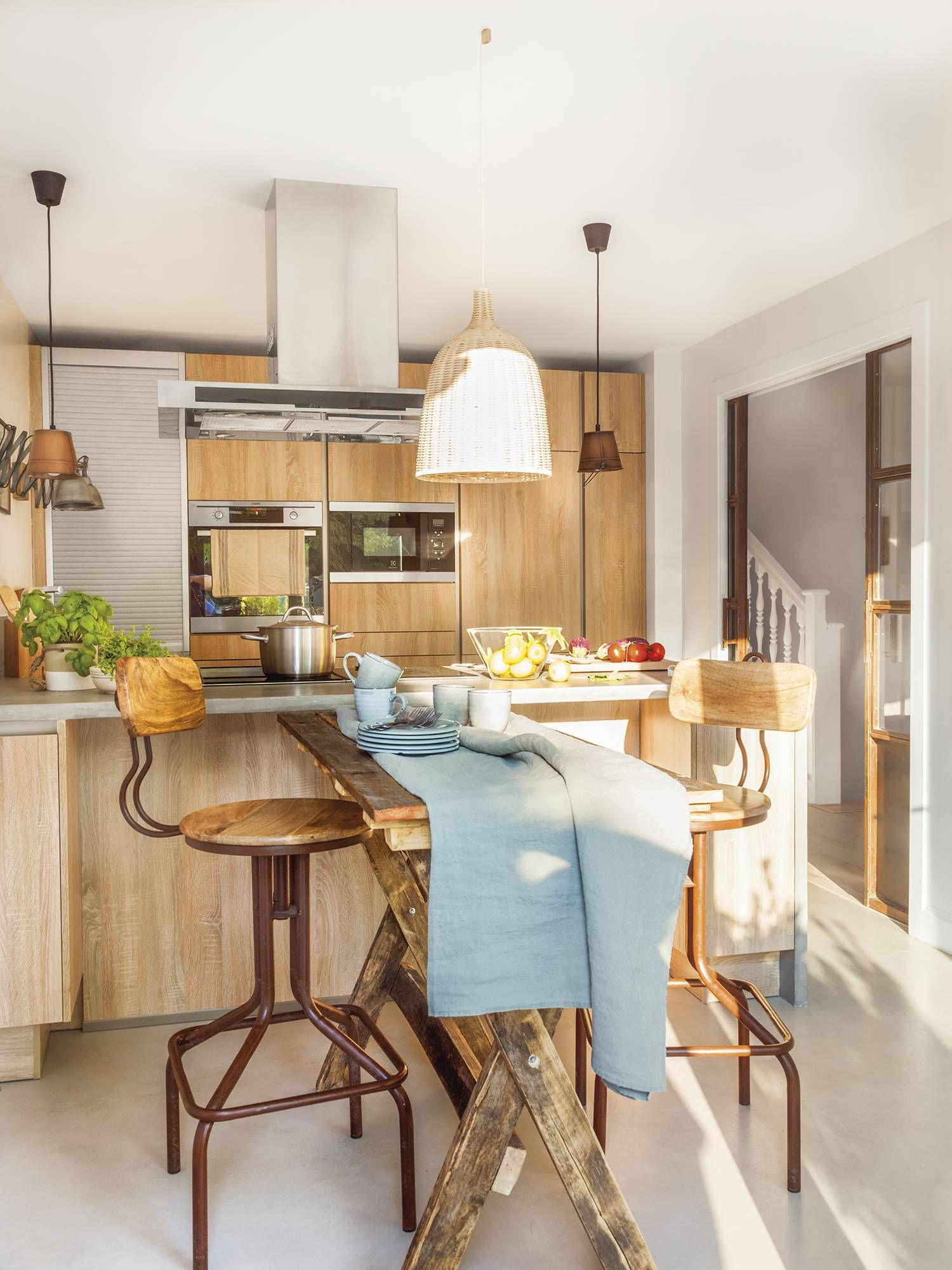 Decoraciones Cocinas Pequeñas Un Manitas En Casa En 2019 Kitchens Contemporary Kitchen