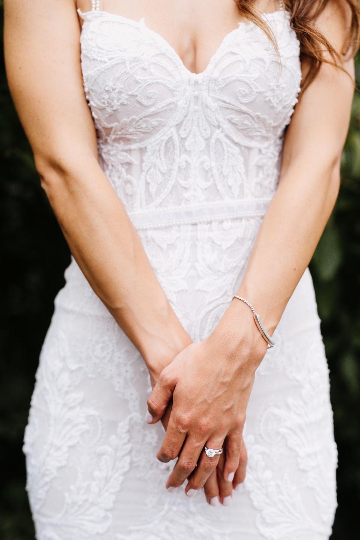 Totally Romantic Black Tie Garden Wedding Gold Wedding Gowns