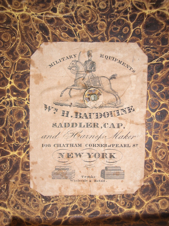 Baudoine  Box Maker New York    Christopher Clarke Antiques Archive