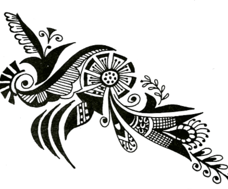 Mehndi Elephant Coloring Pages : Free arabic mehndi designs henna is breathtaking