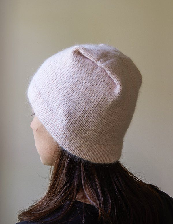 Reversible Pleat Hat Purl Soho Knitted Hats Knitting