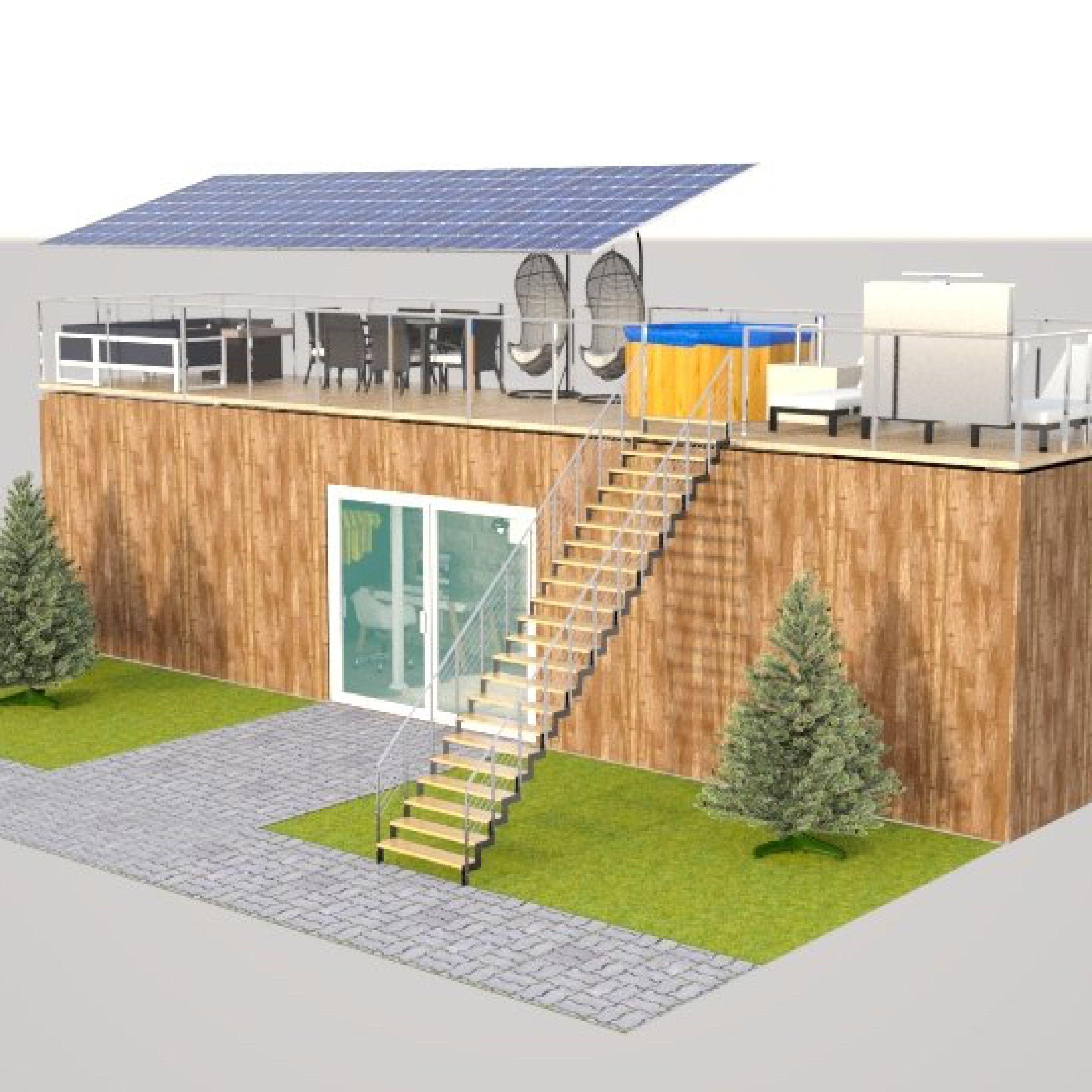 Tiny house made on Floorplanner.com   Create floor plan ...