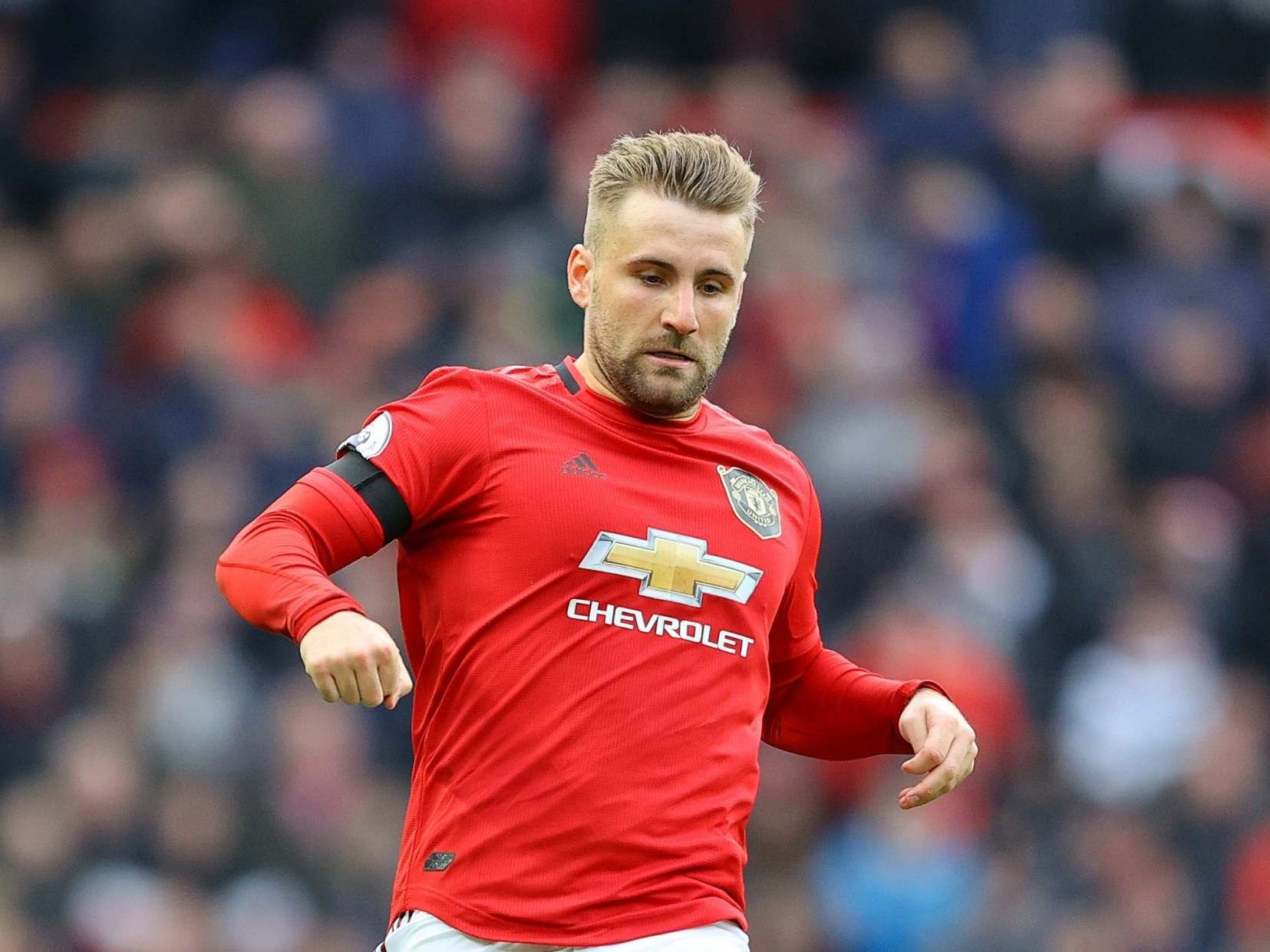Manchester United Wanted Derby Win More Than Man City Says Luke Shaw In 2020 Manchester United Manchester Luke