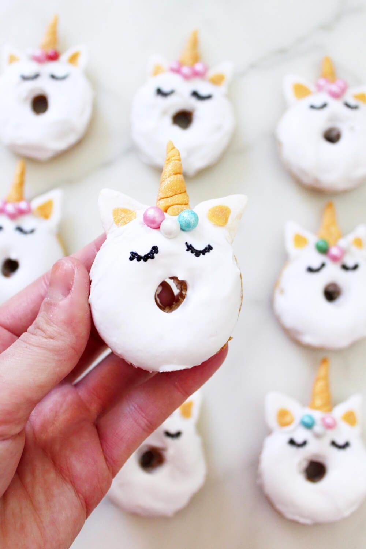 Mini Donuts Backen Rezept Fur Susse Einhorn Donuts Food Drink